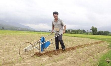 Chế tạo xe gieo hạt đậu