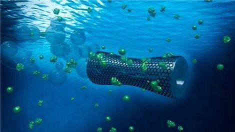 Microbot có thể làm sạch nguồn nước bị ô nhiễm