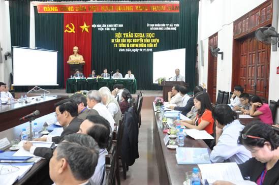 3 năm nhìn lại Chương trình Đẩy mạnh hợp tác trong nước và quốc tế về KH&CN thành phố Hải Phòng