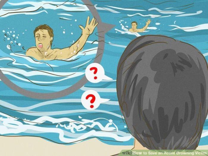 Làm gì khi thấy người đuối nước?