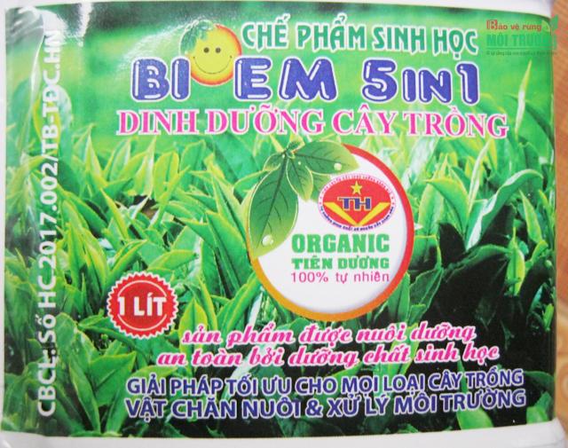 Chế phẩm sinh học BIO EM 5 in 1