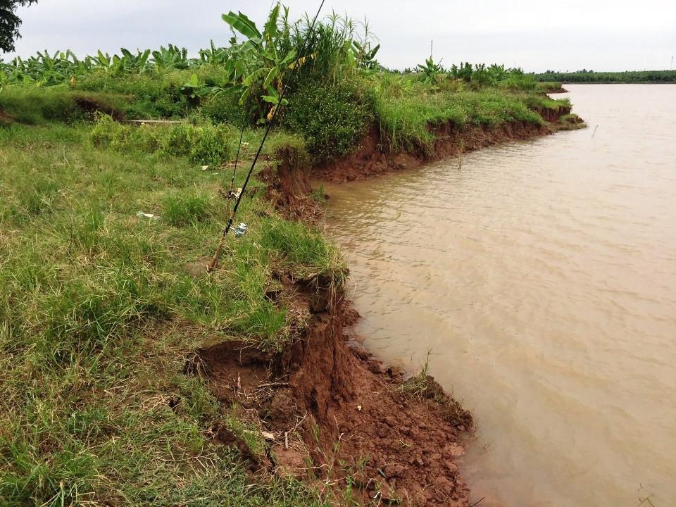 Nhức nhối khai thác cát trái phép trên sông