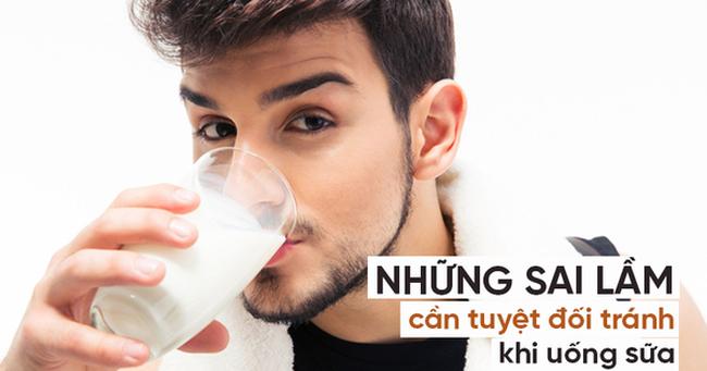 Không được uống sữa khi đói, vì sao?