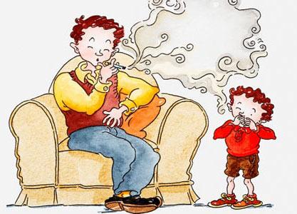 Tác hại của khói thuốc đến sức khỏe trẻ em