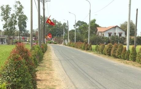 Xã Đồng Thái xây dựng nông thôn mới kiểu mẫu:  Đồng thuận băng nhanh về đích