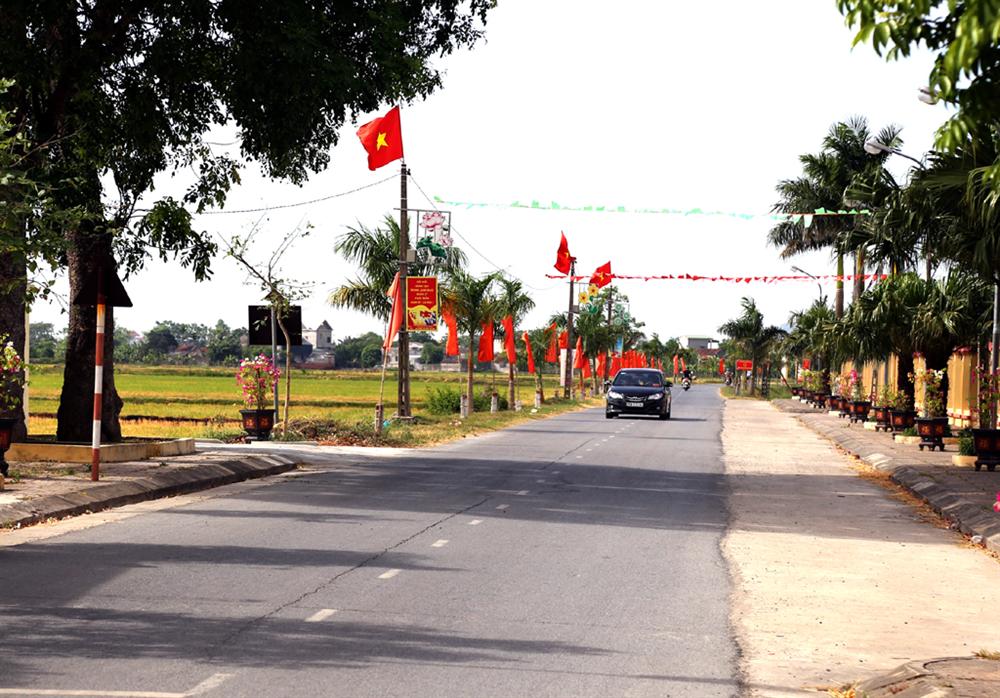 Xã Đồng Thái xây dựng xã nông thôn mới kiểu mẫu