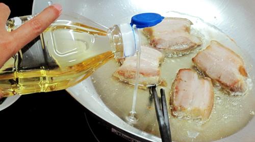 Sai lầm khi dùng dầu ăn